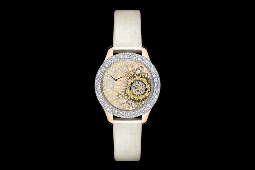 DIOR GRAND SOIR ROYAL BOTANIC N°1 Ø 36 mm, movimiento cuarzo aria_frontView
