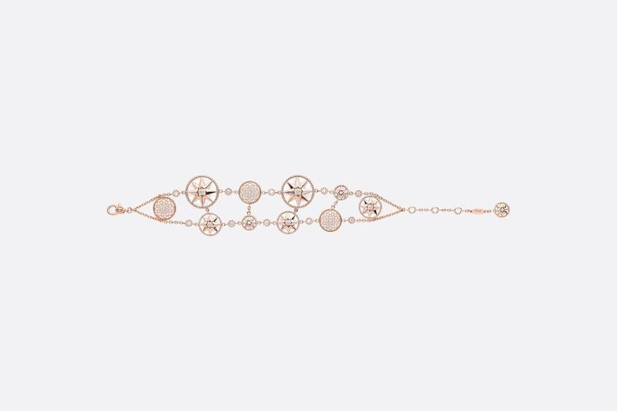 Rose Des Vents Cuff Bracelet Front view Open gallery