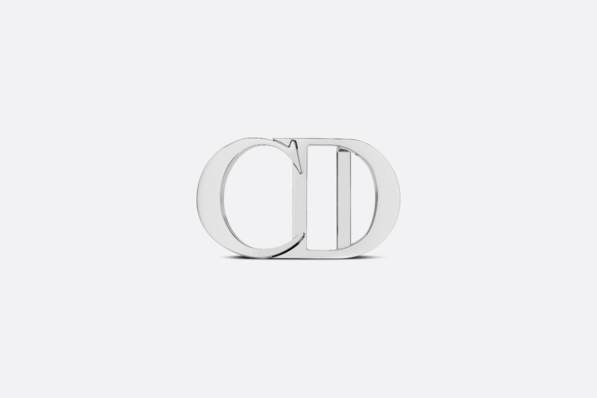 'CD Icon' Belt Buckle Front view Open gallery