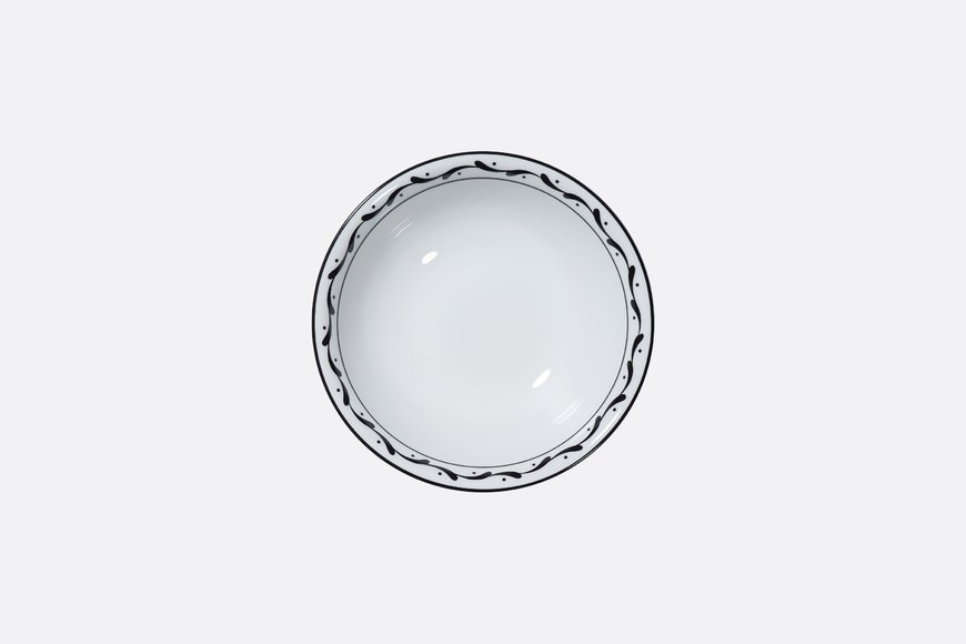 Monsieur Dior cereal bowl front view