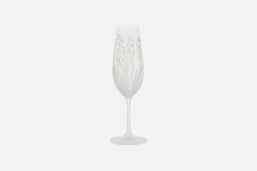 Engraved Champagne Flute front view Open gallery