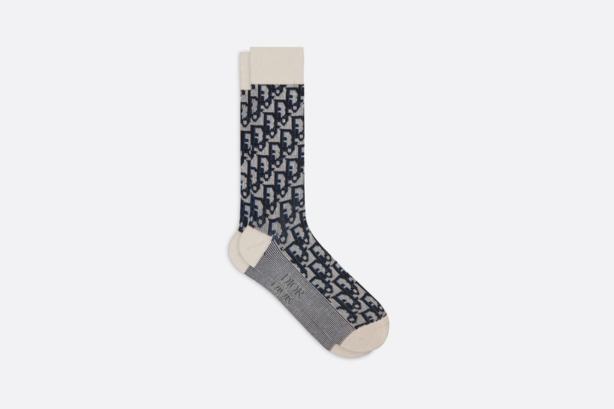 Dior Oblique Socks Front view Open gallery