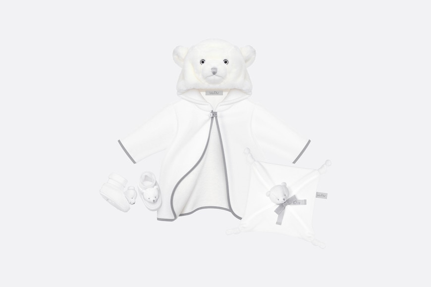 Teddy bear newborn gift set aria_frontView