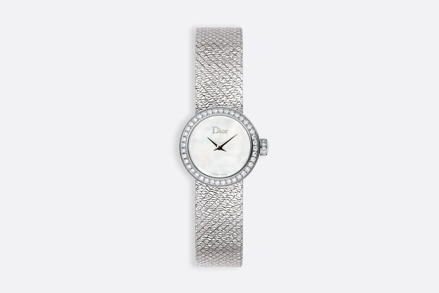la mini d de dior satine Ø 19 mm, mouvement quartz | Dior
