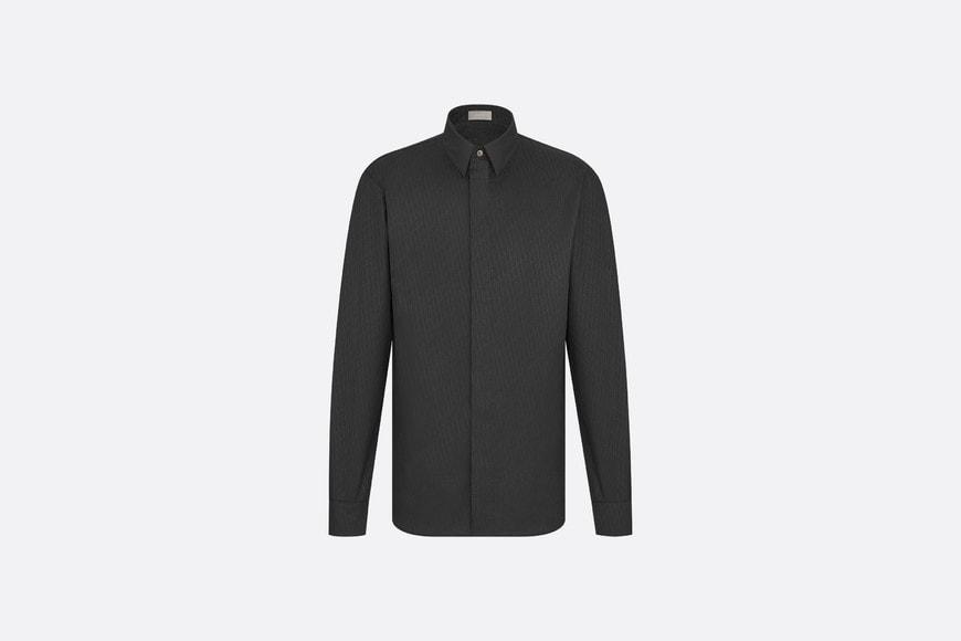 Dior Oblique 모티브 셔츠 aria_frontView aria_openGallery