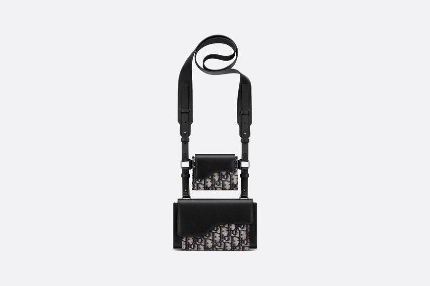 Dior Elite shoulder pouch Front view Open gallery