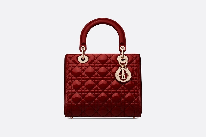 Medium Lady Dior Bag Front view Open gallery