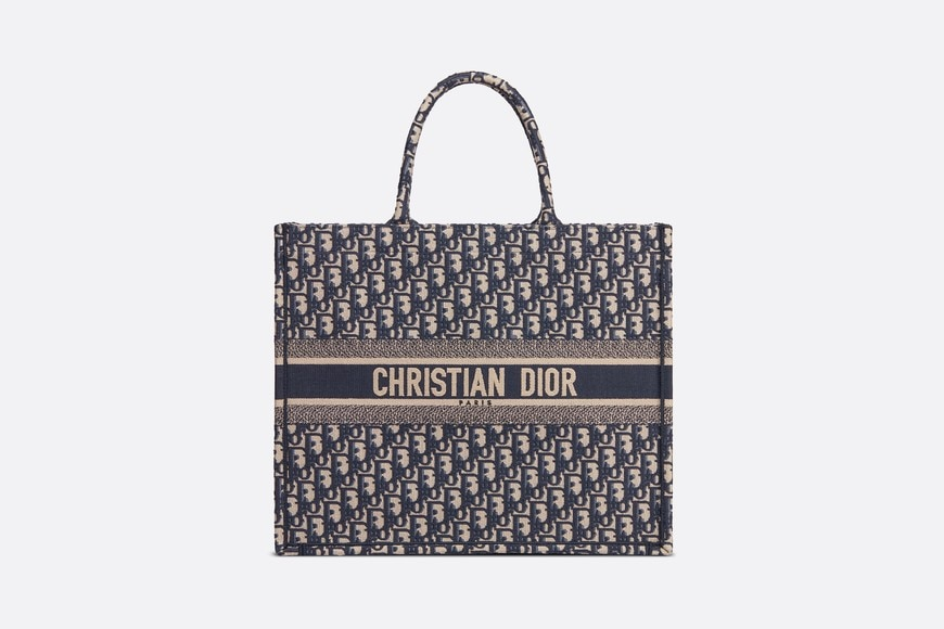 74a4ca0c1 Dior Book Tote Dior Oblique bag - Bags - Woman | DIOR
