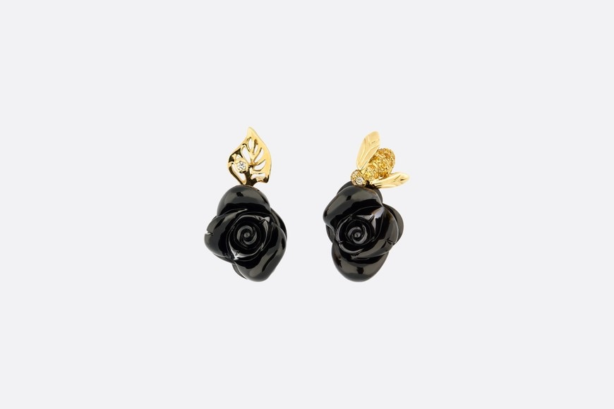 Rose Dior Pré Catelan Earrings Front view Open gallery