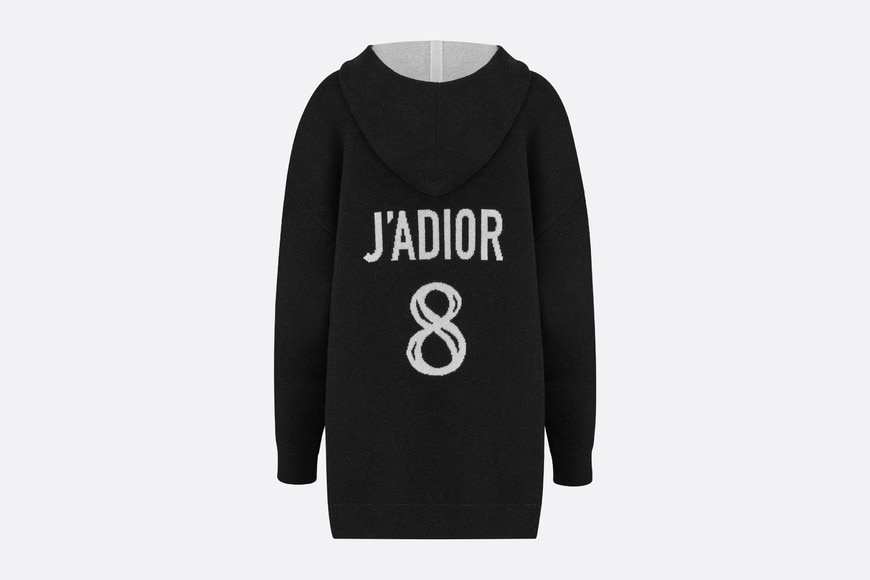 J'Adior 8' Hooded Sweater Front view Open gallery