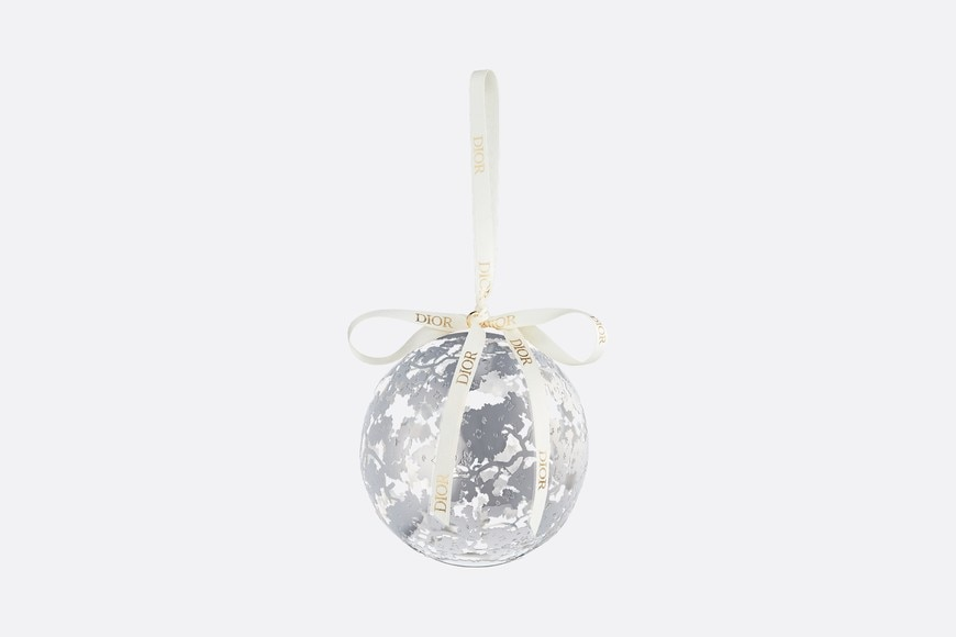 Xmas decorative ornament aria_frontView