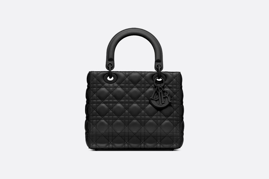 Lady Dior ultra-matte bag front view
