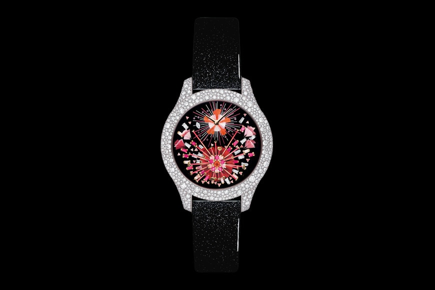 Dior Grand Soir Feux d'Artifice No. 15 Ø 36mm, quartz movement front view