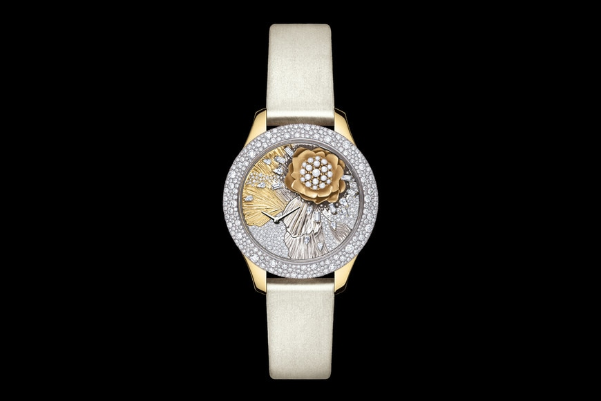 DIOR GRAND SOIR ROYAL BOTANIC N°3 Ø 36mm, quartz movement aria_frontView