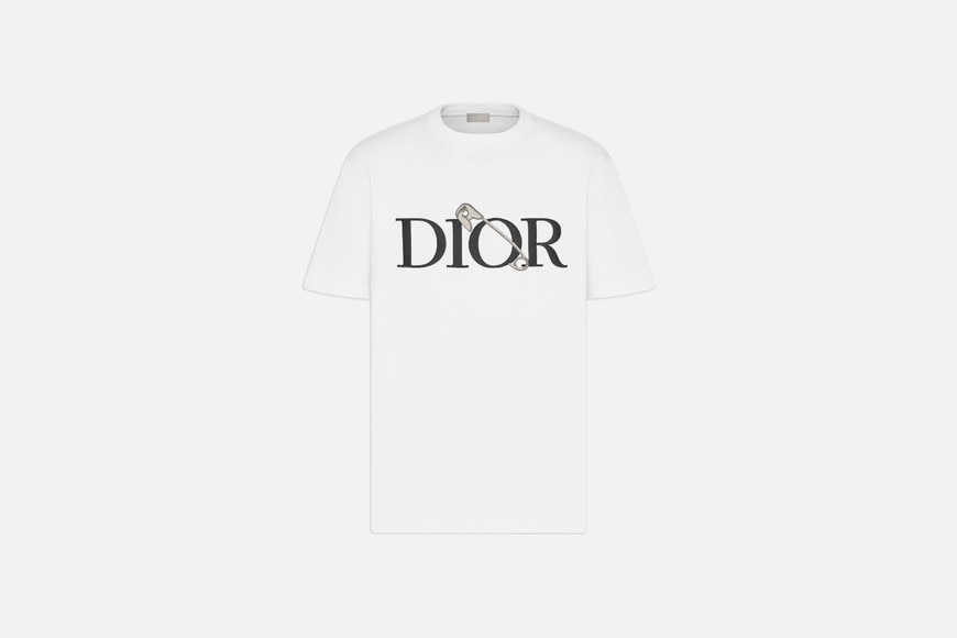 Oversized DIOR AND JUDY BLAME T-shirt Front view Open gallery