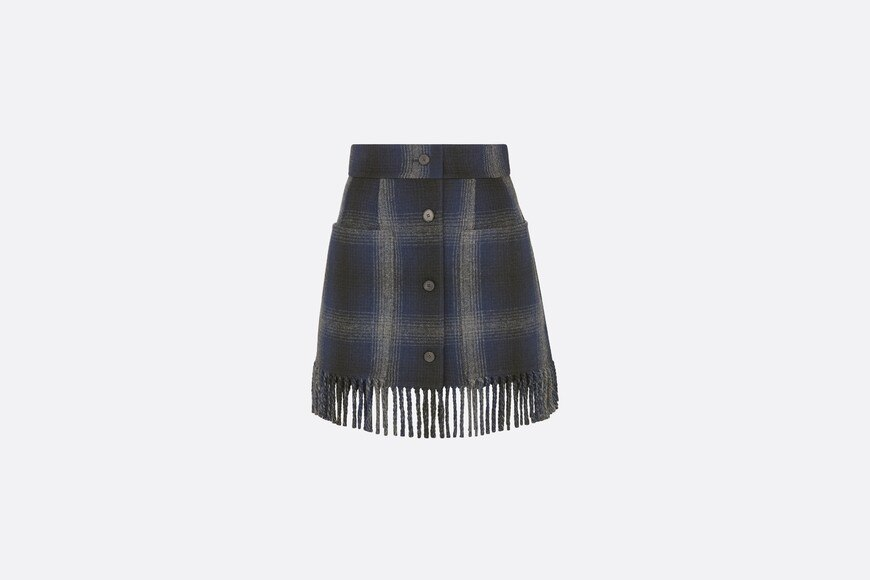 Short Fringed Skirt Front view Open gallery