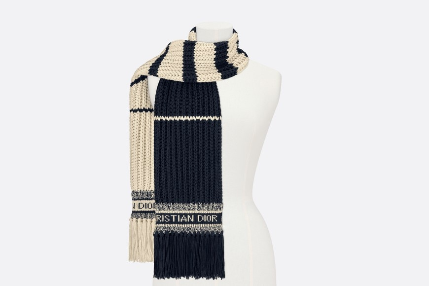 Dior Marinière Scarf Front view Open gallery