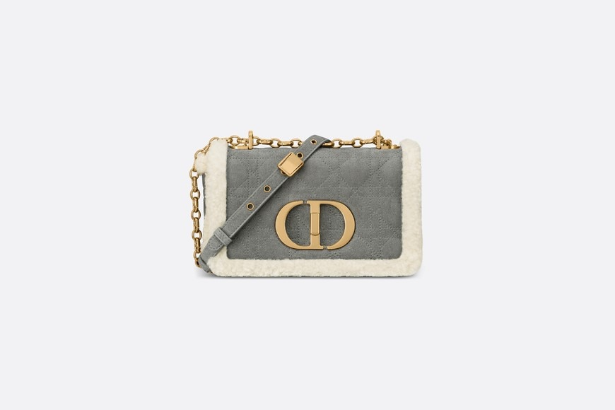 Small Dior Caro Bag Front view Open gallery