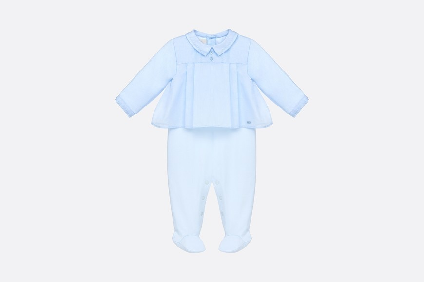 Cotton voile and interlock pajamas aria_frontView