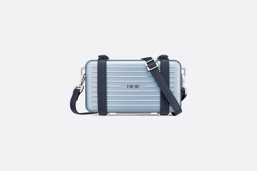 DIOR and RIMOWA Personal Clutch Front view Open gallery