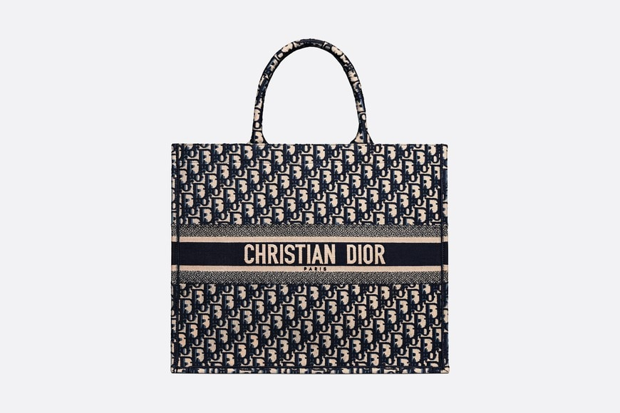 Dior Book Tote Front view Open gallery