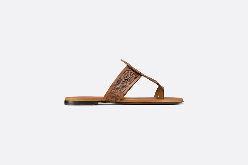 Dior Rosée Thong Sandal Profile view Open gallery