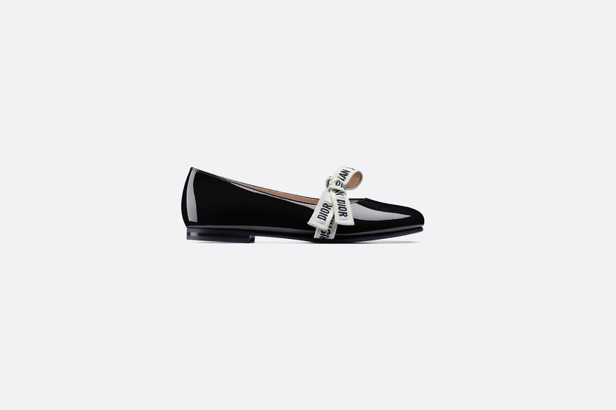 Ballerinas in patent calfskin aria_profileView