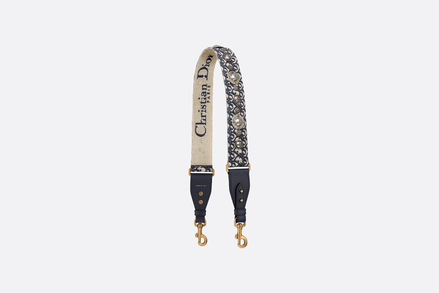 Dior Oblique shoulder strap aria_backView