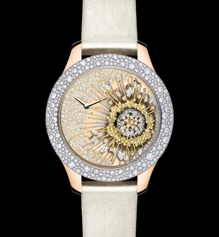 dior grand soir royal botanic n°1 Ø 36 mm, movimiento cuarzo | Dior