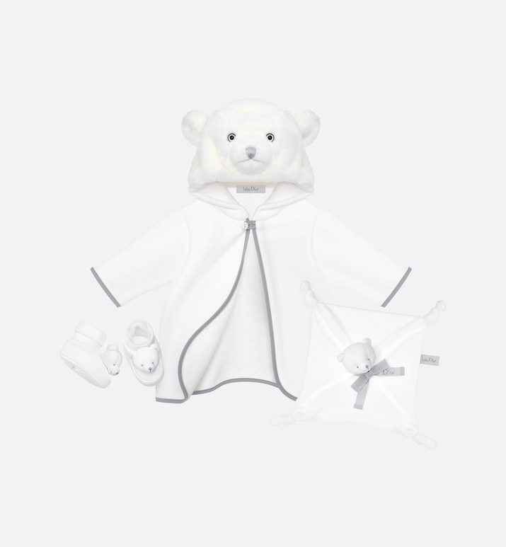 teddy bear newborn gift set | Dior