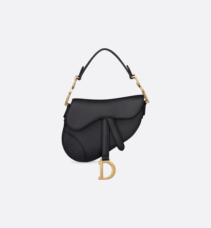 mini saddle calfskin bag | Dior