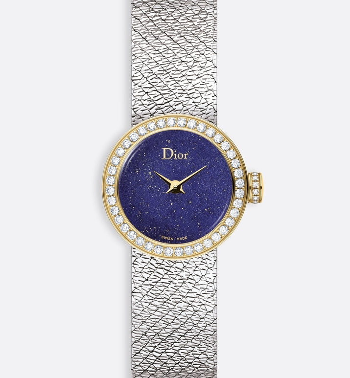 la d de dior mini satine Ø 19mm, quartz movement | Dior