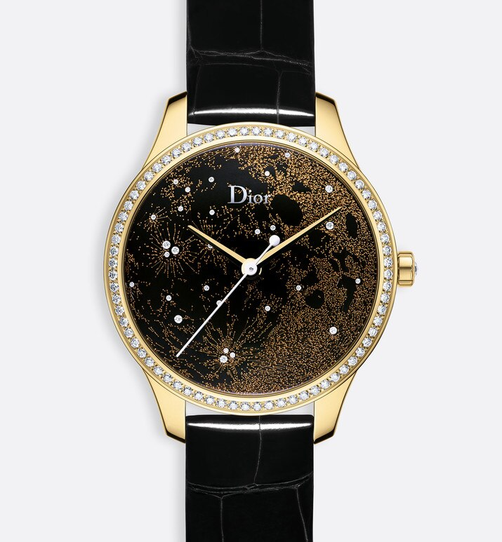 dior viii montaigne clair de lune half moon  Ø 36mm, automatic movement | Dior