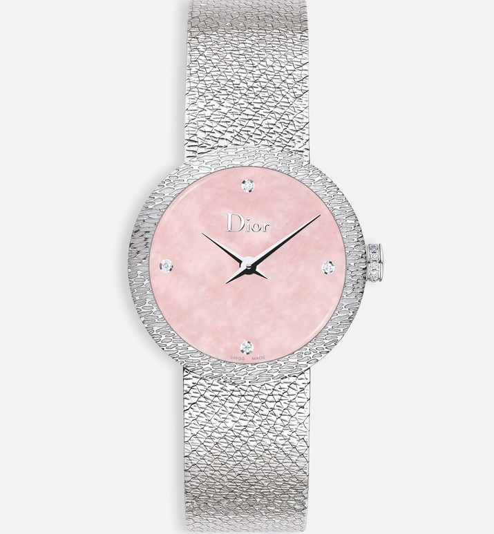 la d de dior satine Ø 25 mm, mouvement quartz | Dior