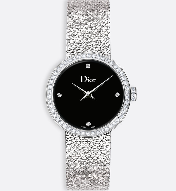 la d de dior satine ø 25 mm, quartz movement | Dior