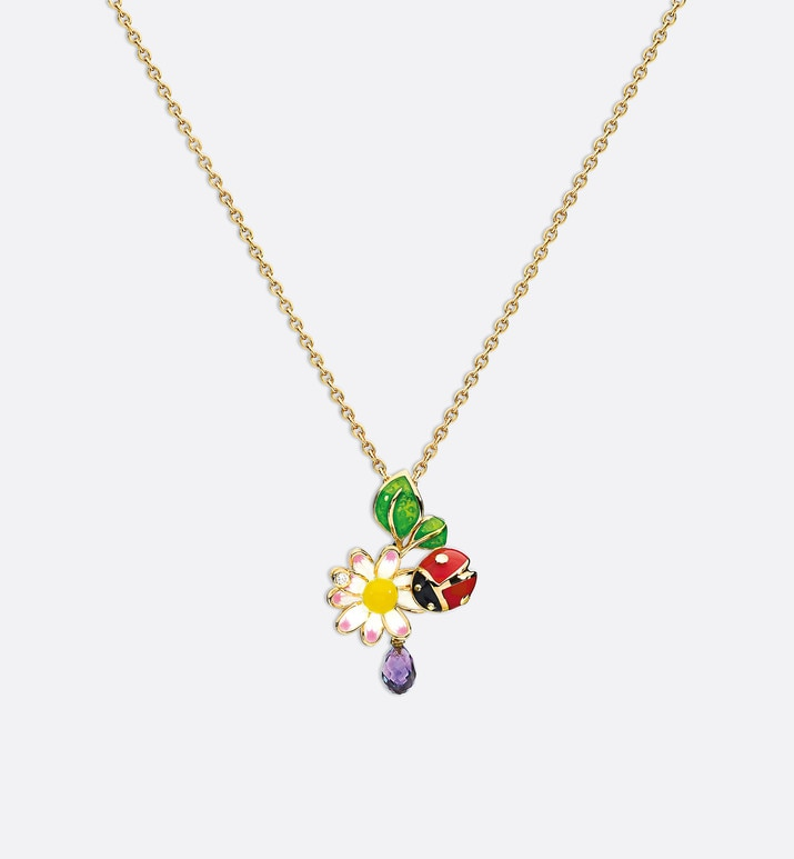 diorette necklace in 18k yellow gold | Dior