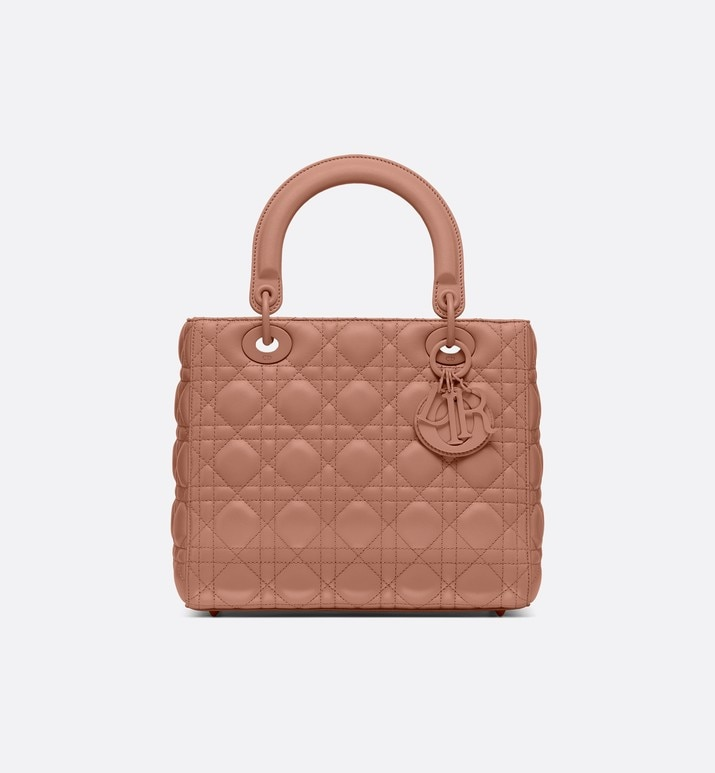 lady dior ultra-matte medium bag | Dior