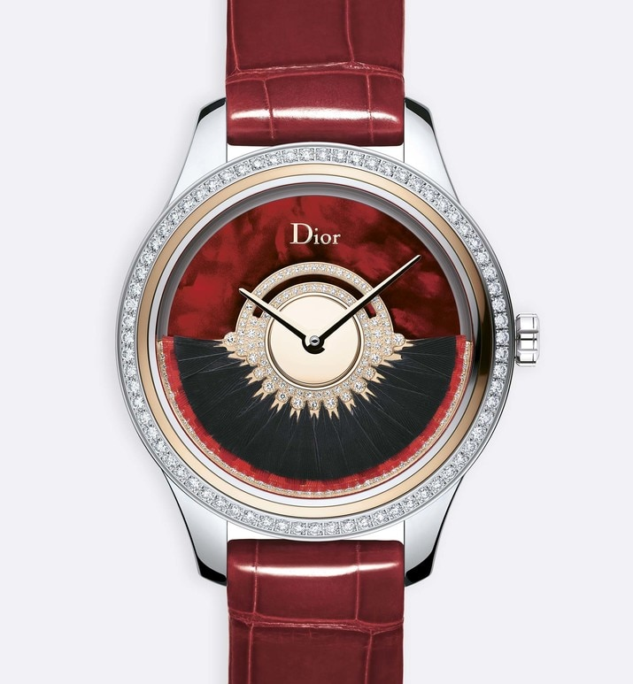 dior grand bal plume Ø36 mm, mouvement automatique, calibre