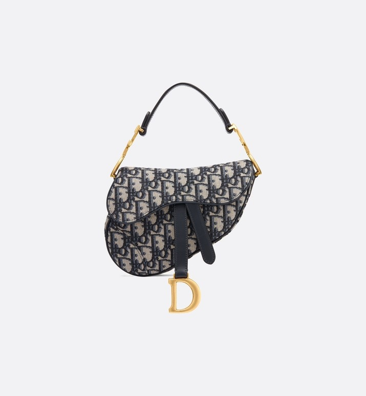 mini dior oblique saddle bag | Dior