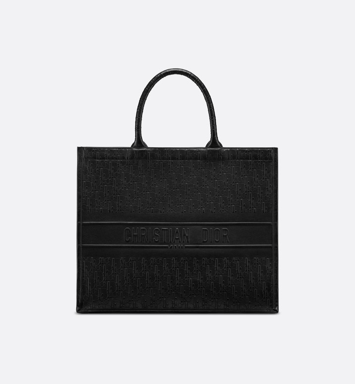 black dior oblique book tote bag | Dior