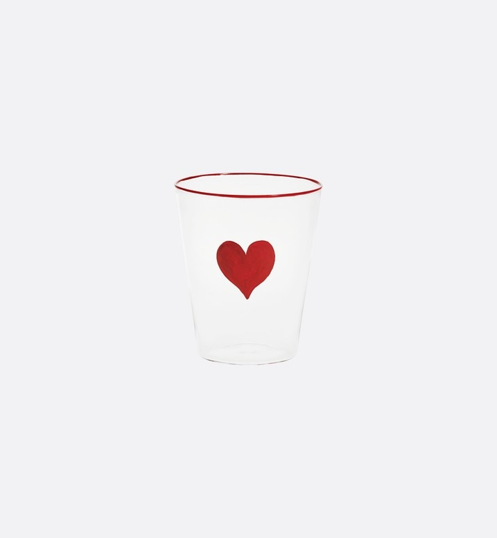 check'n'dior hearts glass | Dior