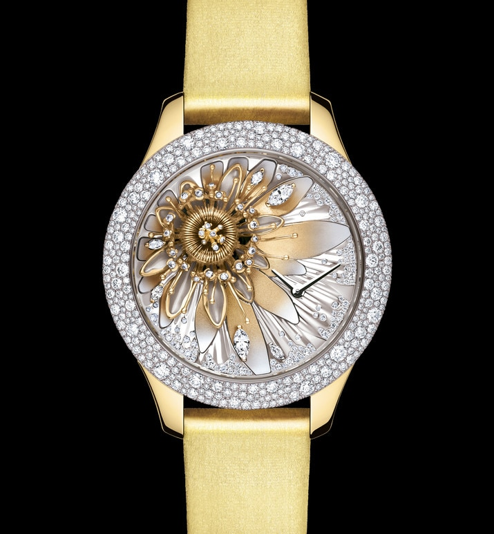 dior grand soir royal botanic n°2 Ø 36mm, quartz movement | Dior