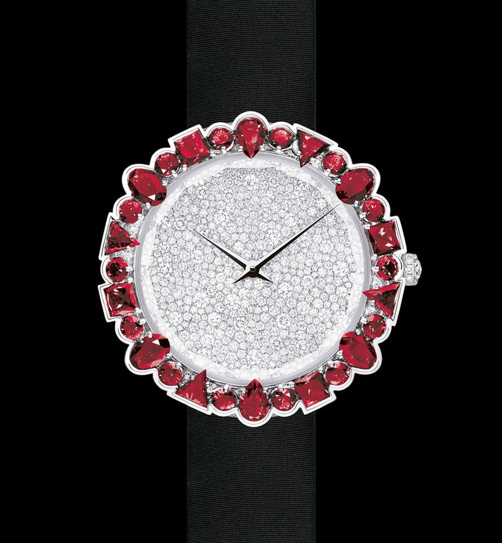 la d de dior cocotte Ø 38 mm, quartz movement | Dior