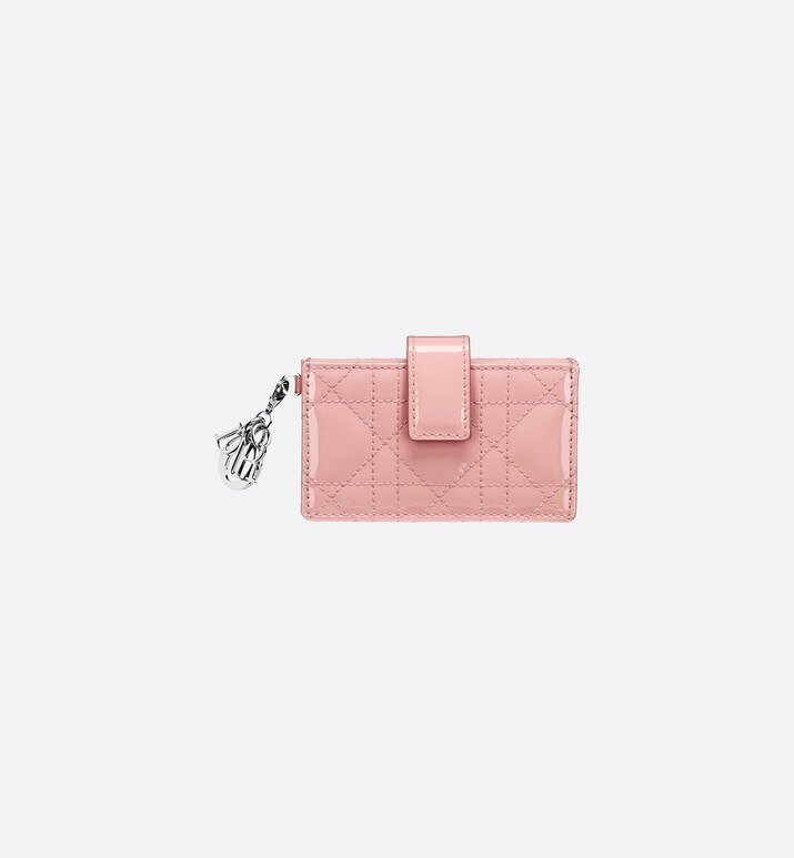 lady dior calfskin card holder | Dior