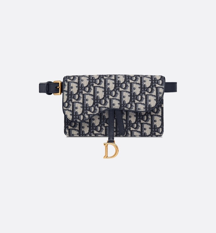 dior oblique saddle-clutch | Dior