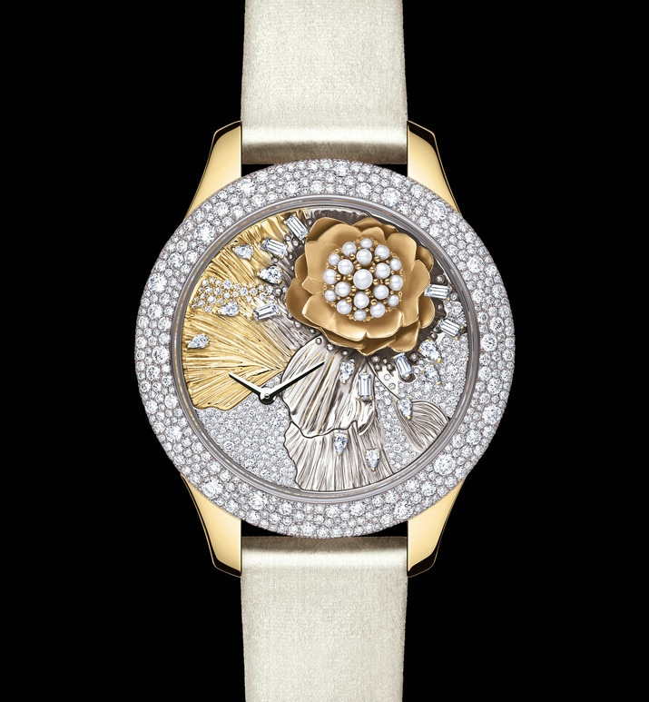 dior grand soir royal botanic n°3 Ø 36mm, quartz movement | Dior