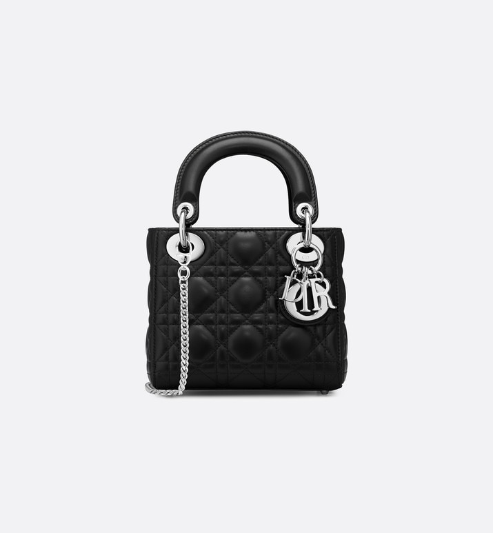 mini lady dior lambskin bag | Dior
