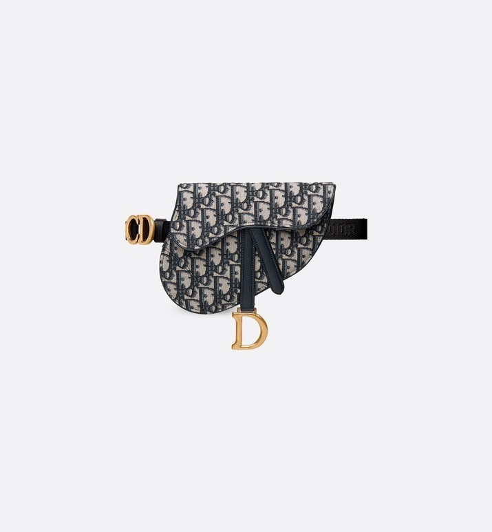 dior oblique saddle belt bag | Dior