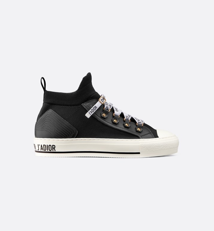 walk'n'dior technical knit mid-top sneaker | Dior