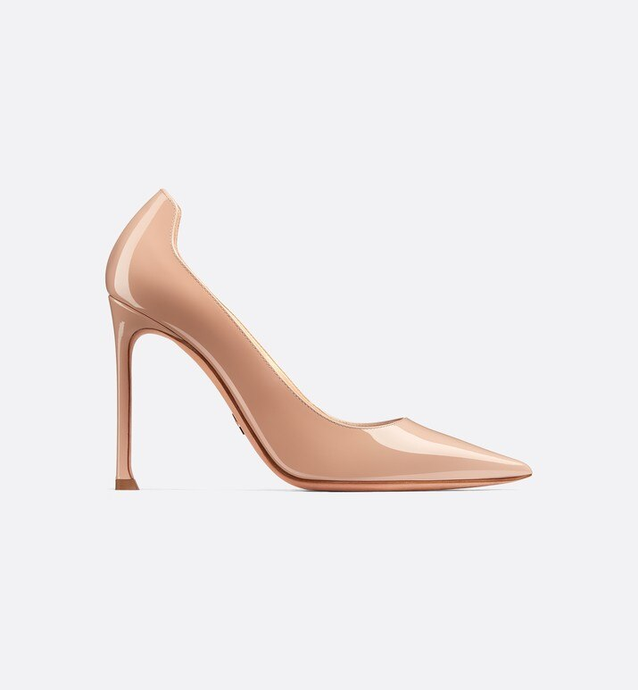 d-moi patent calfskin high-heeled shoe | Dior